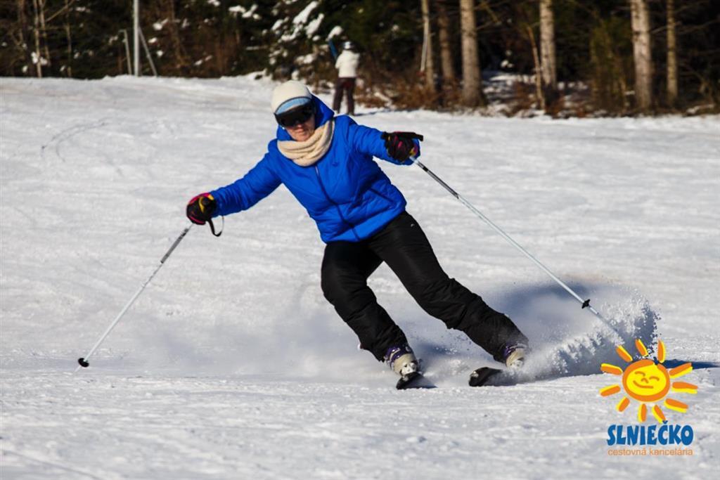 Exkluzívna jarná lyžovačka